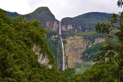 Gocta Waterfall at 771m high, Chachapoyass, Peru