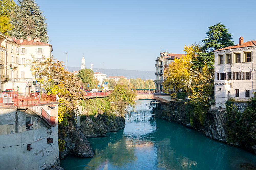 Ivrea in the Outskirts of Turin, Piedmont Region, Italy