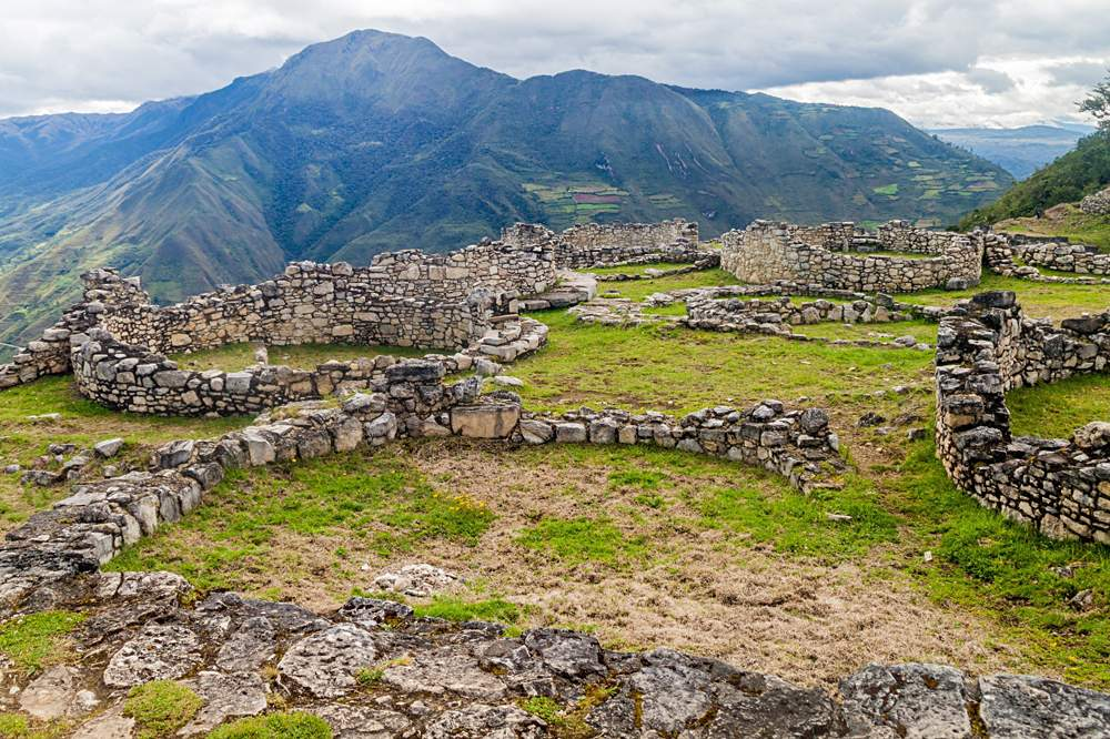 Kuelap Ruins, Chachapoyas cloud forest in mountains of Northern Peru