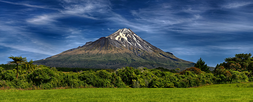Mount Taranaki, North Island, New Zealand