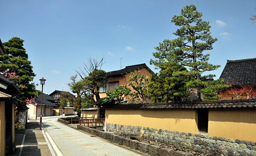 Nagamachi Samurai District in Kanazawa, Japan