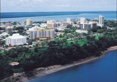 Aerial View of Darwin, Northern Territory, Australia