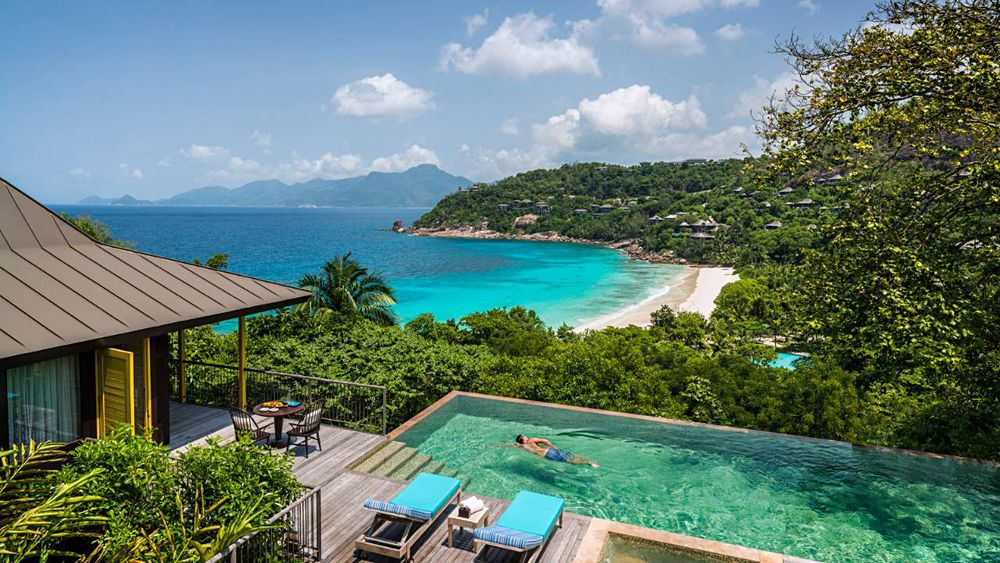 Four Seasons Resort Seychelles - hilltop ocean view villa, Seychelles