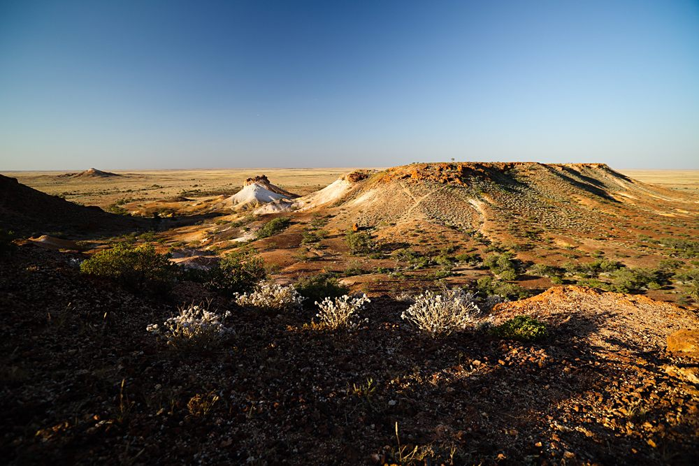 Ghan Expedition - Breakaways National Park in Coober Pedy, South Australia, Australia