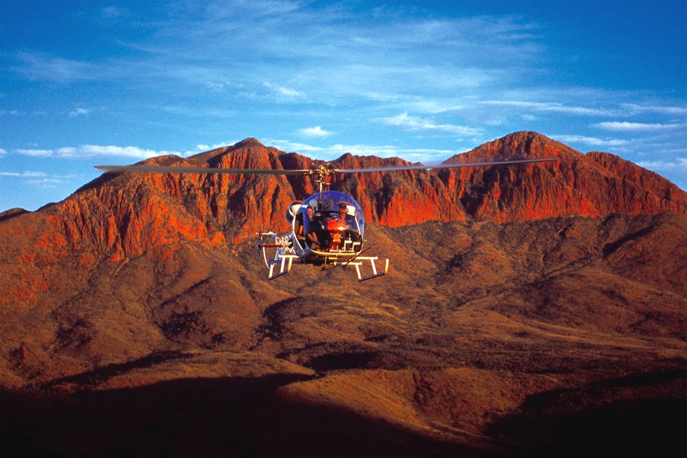 Ghan Expedition - Spirit of Mt Gillen Helicopter Flight, MacDonnell Ranges, Alice Springs, Northern Territory, Australia