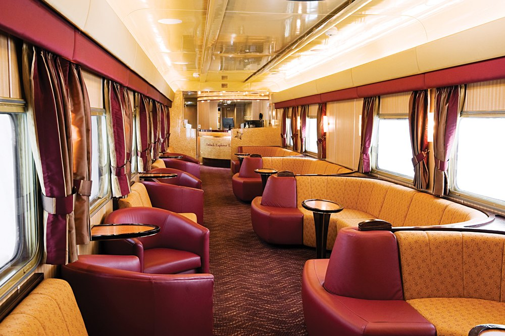Ghan Train - Outback Explorer Lounge, Australia