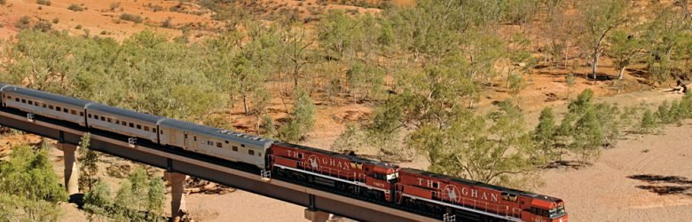 The Ghan Alice Springs to Darwin, Australia