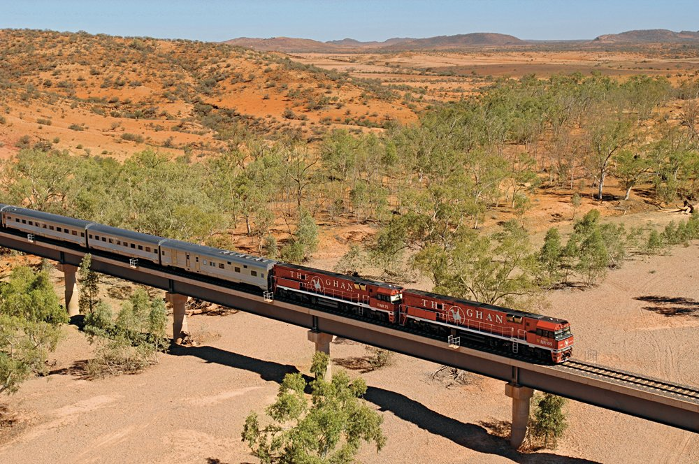 The Ghan Alice Springs to Darwin, Australia