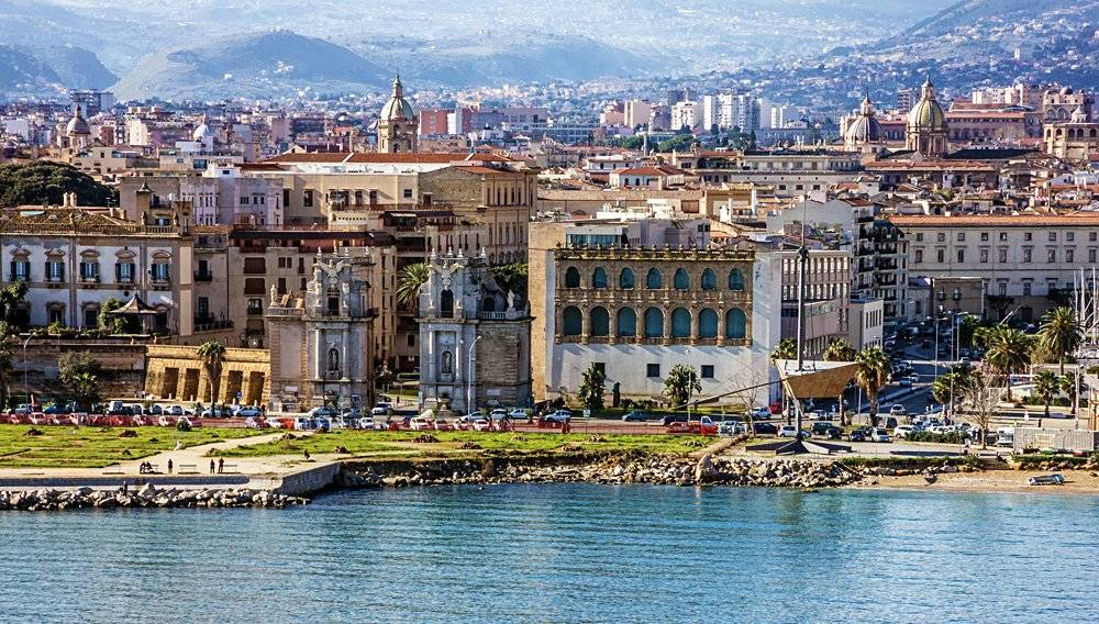 Palermo, Sicily, Seafront view, Italy