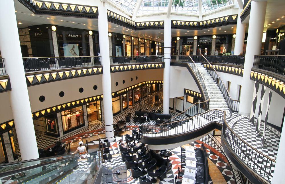 Quartier 206 shopping mall, Friedrichstrasse, Berlin, Germany