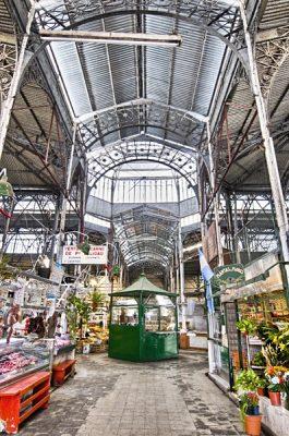 San Telmo market interior, Buenos Aires, Argentina