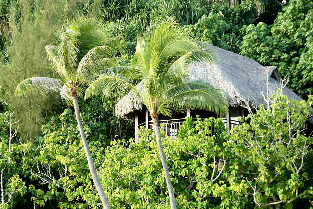 Sofitel Bora Bora Private Island Resort - Luxury Lodge Bird View, Tahiti (French Polynesia)