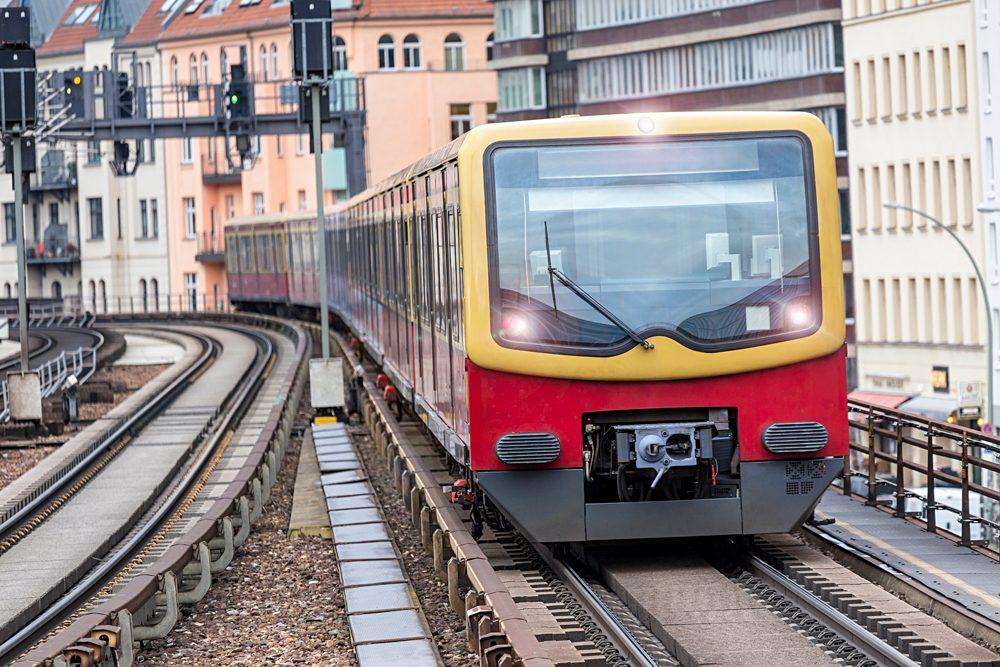 The S-Bahn in Berlin, Germany