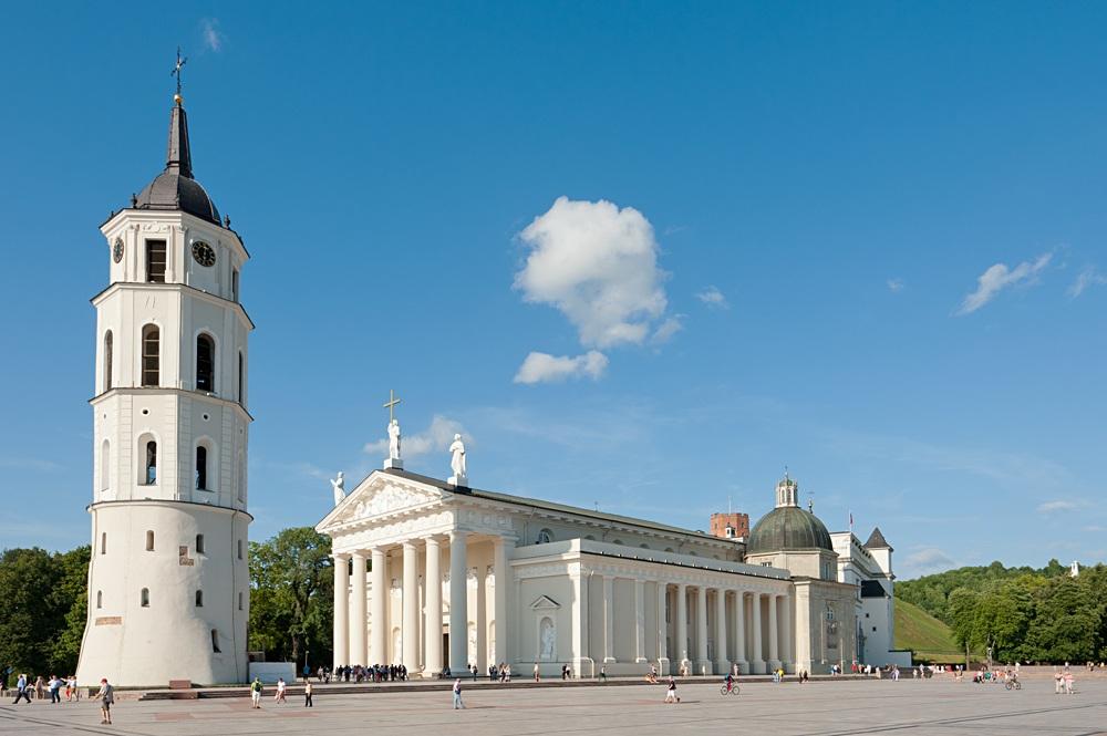 Vilnius Cathedral Basilica. Vilnius, Lithuania