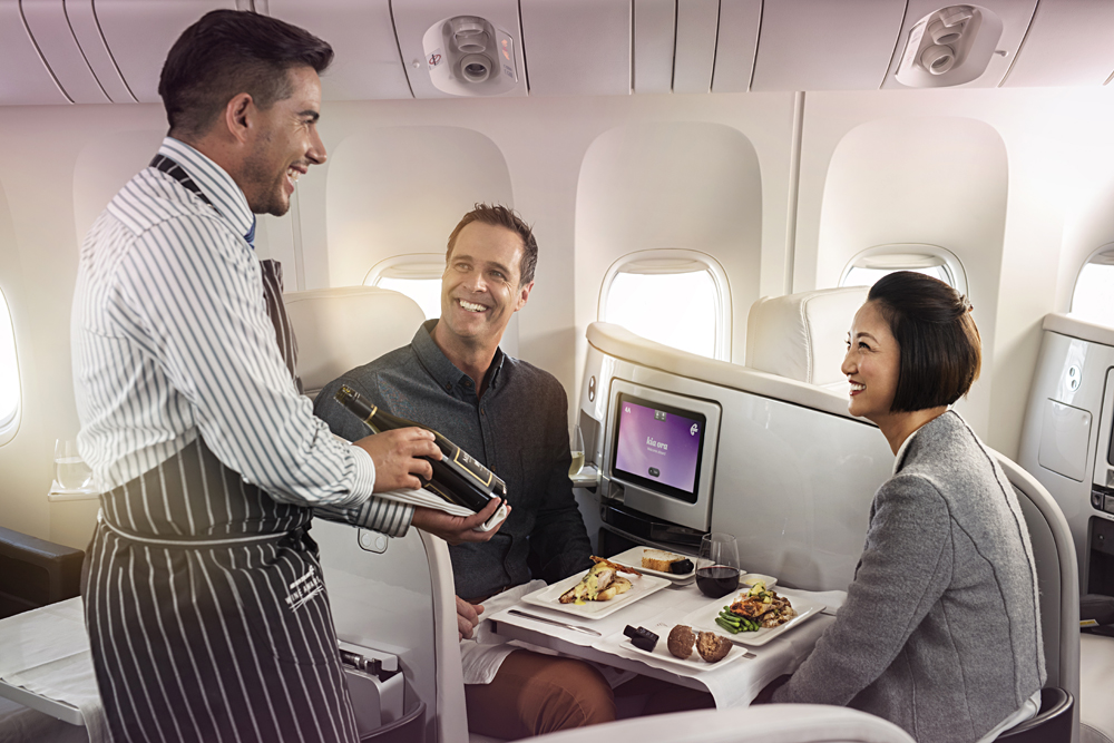 Air New Zealand - Business Premier Dining 0001697