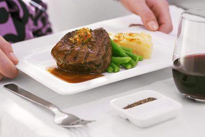 Air New Zealand - Inflight Steak Dinner - 0140798