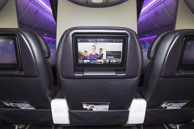 Air New Zealand - Premium Economy Entertainment Screen