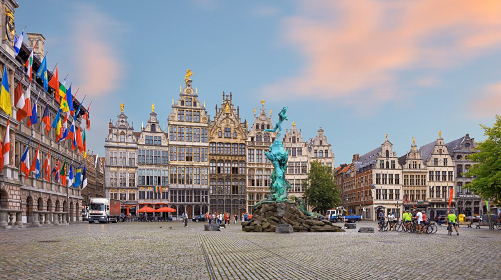 Central Square and City Hall of Antwerp