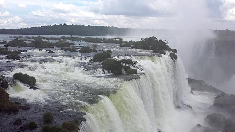 Christian Baines - Iguassu Falls - Devil's Throat, Brazil Argentina
