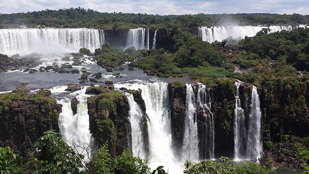 Christian Baines - Iguassu Falls - Small Falls, Brazil Argentina