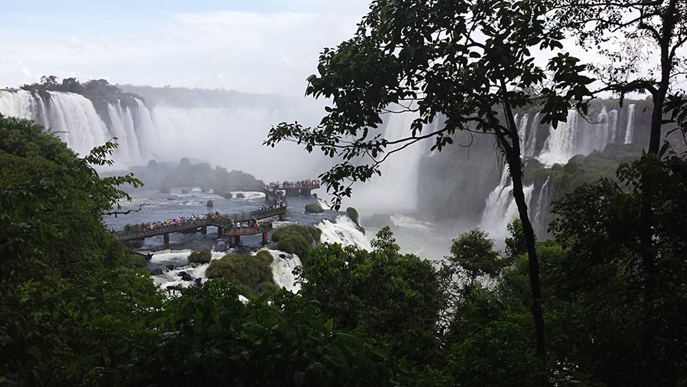 Christian Baines - Iguassu Falls - View of Devil's Throat, Brazil Argentina