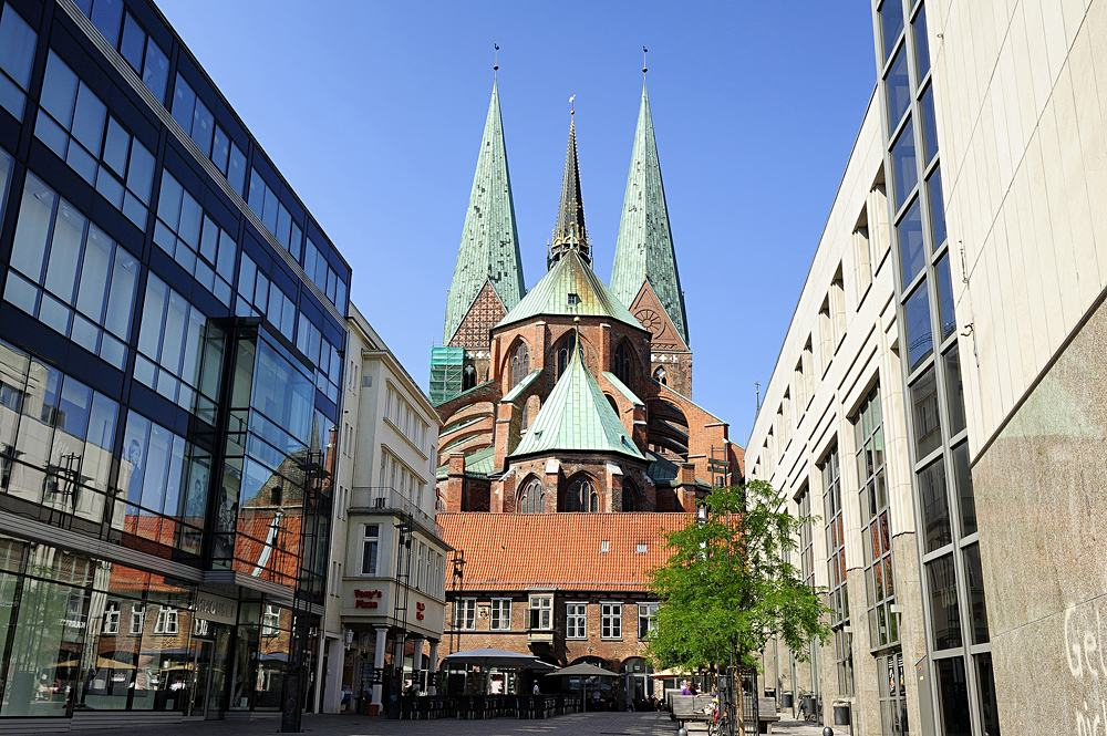 Saint Mary's Church, Lubeck, Germany