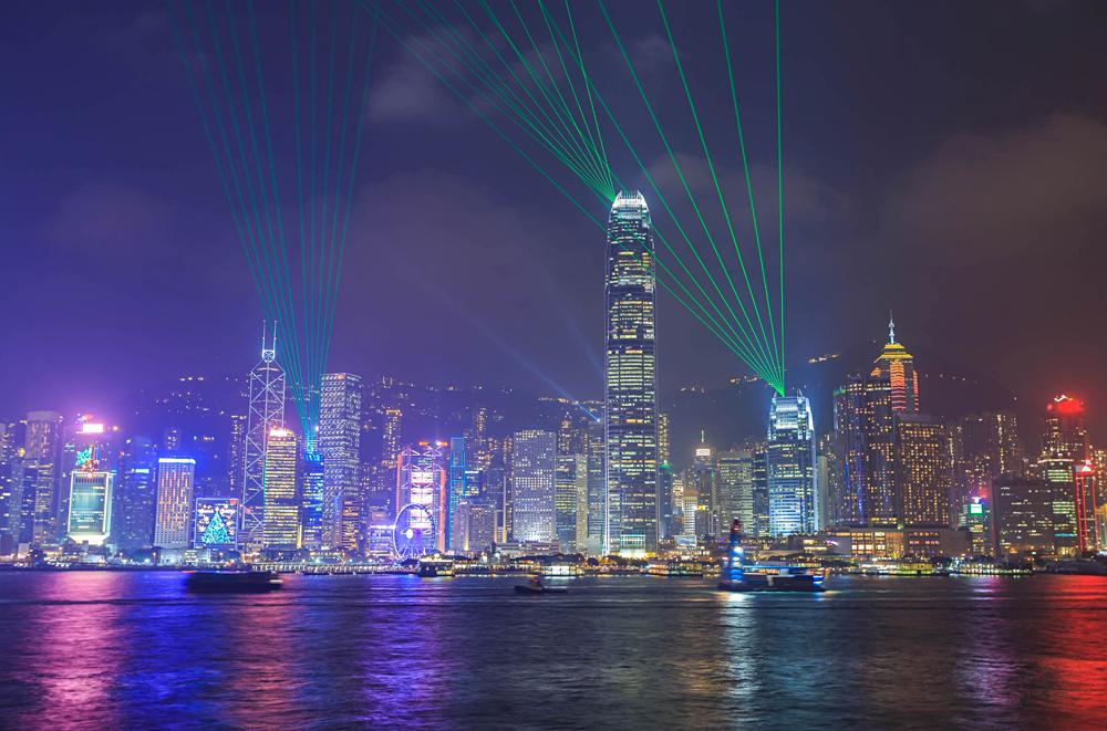 Symphony of Lights show, Hong Kong