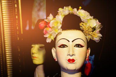 Thai puppet at Baan Silapin Artist Village, Bangkok, Thailand