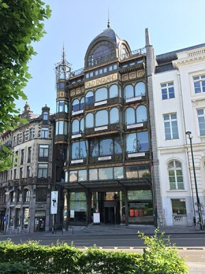 The Musical Instruments Museum (MIM) in central Brussels, Belgium