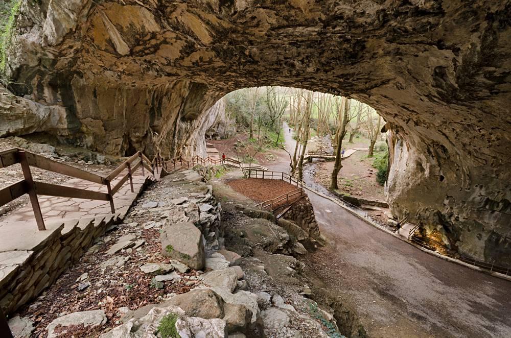 Zugarramurdi witches cave in Navarre, Spain