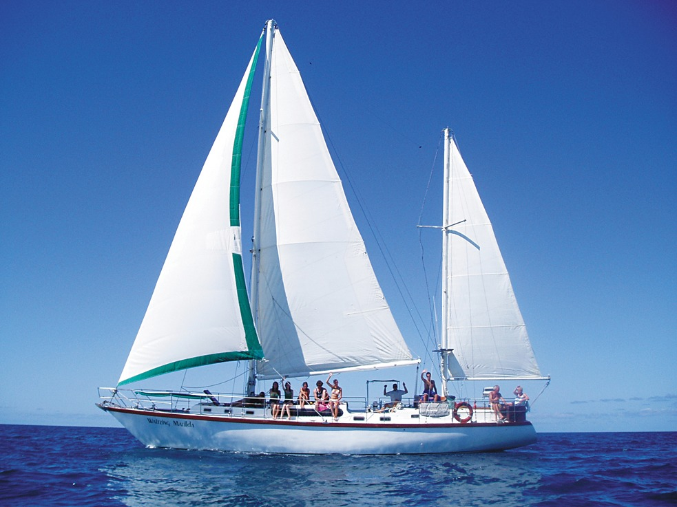 Sailing on the Waltzing Matilda, Australia