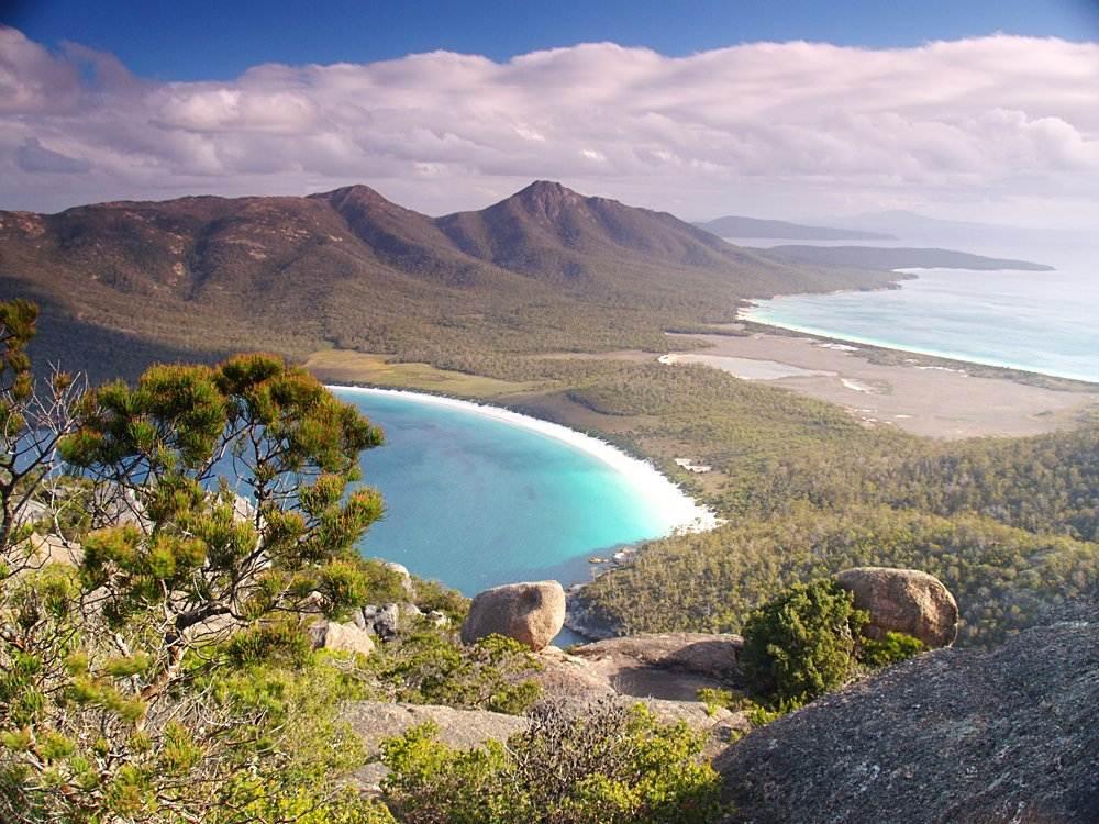 Freycinet National Park in Tasmania, Australia