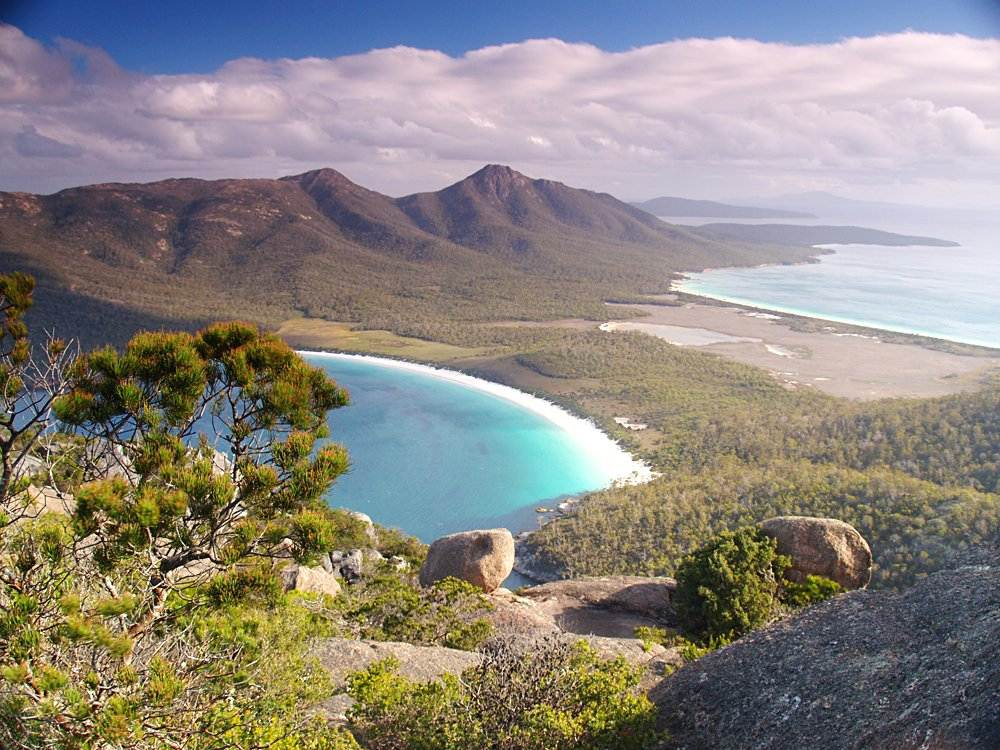 Freycinet National Park in Tasmania, Australia