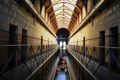 Old Melbourne Gaol interior, Melbourne, Australia