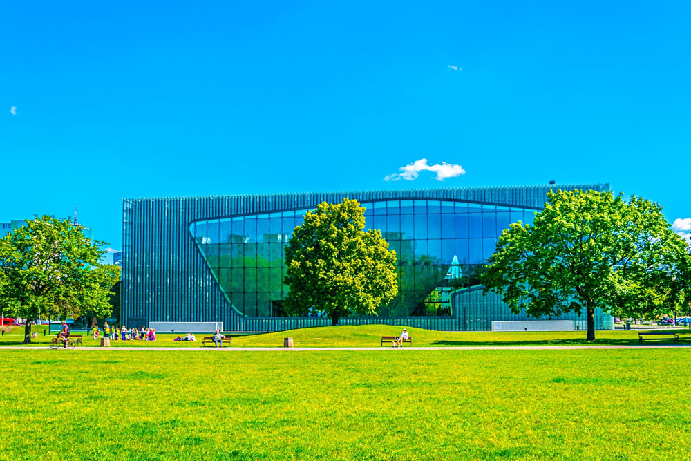 POLIN Museum of the History of Polish Jews, Warsaw, Poland
