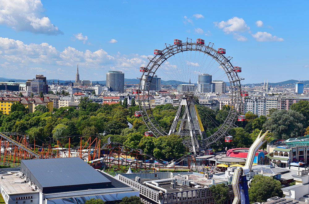 Prater Entertainment Park, Vienna, Austria