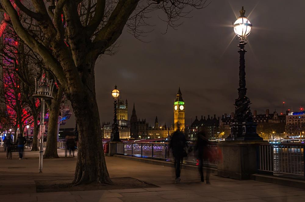 South Bank walk in London, England, UK (United Kingdom)