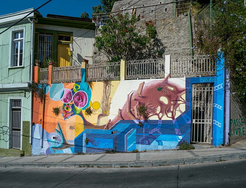 Street Art of Valparaiso, Chile