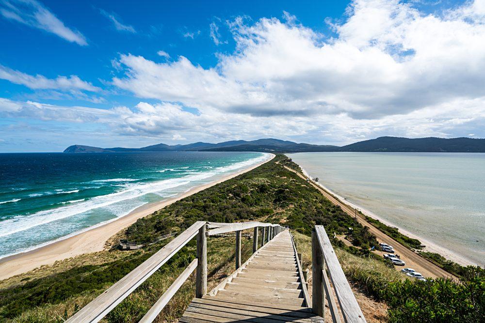 The Neck Lookout, Bruny Island, Tasmania, Australia