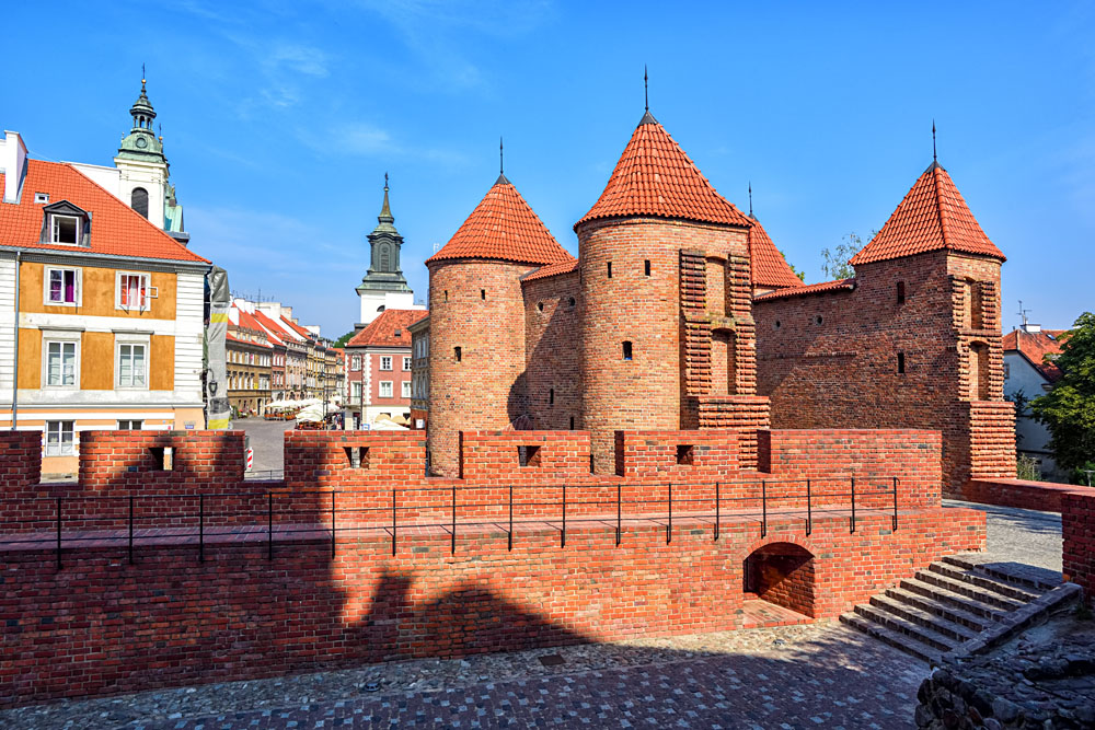 Warsaw Barbican Fort, Poland
