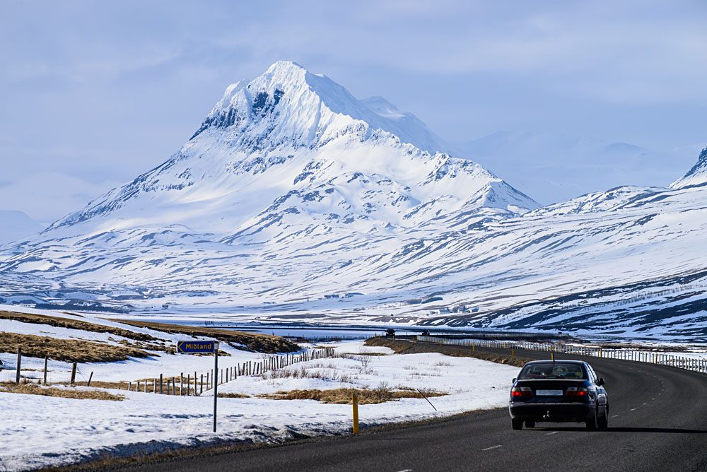 Along the Icelandic Ring Road, Iceland