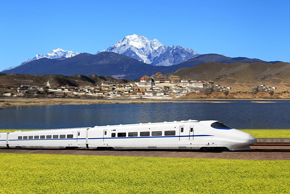 China's high-speed train