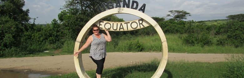 Michelle Crabtree - Michelle at the Equator, Uganda