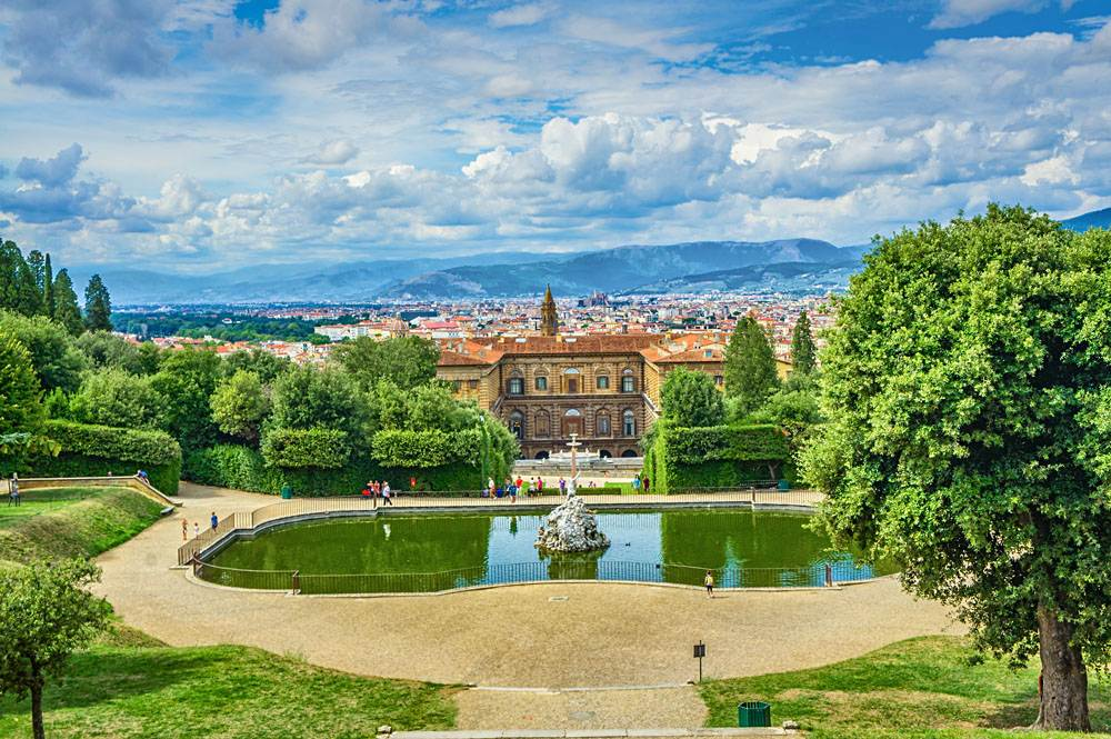 Palazzo Pitti and Boboli Gardens, Florence, Italy