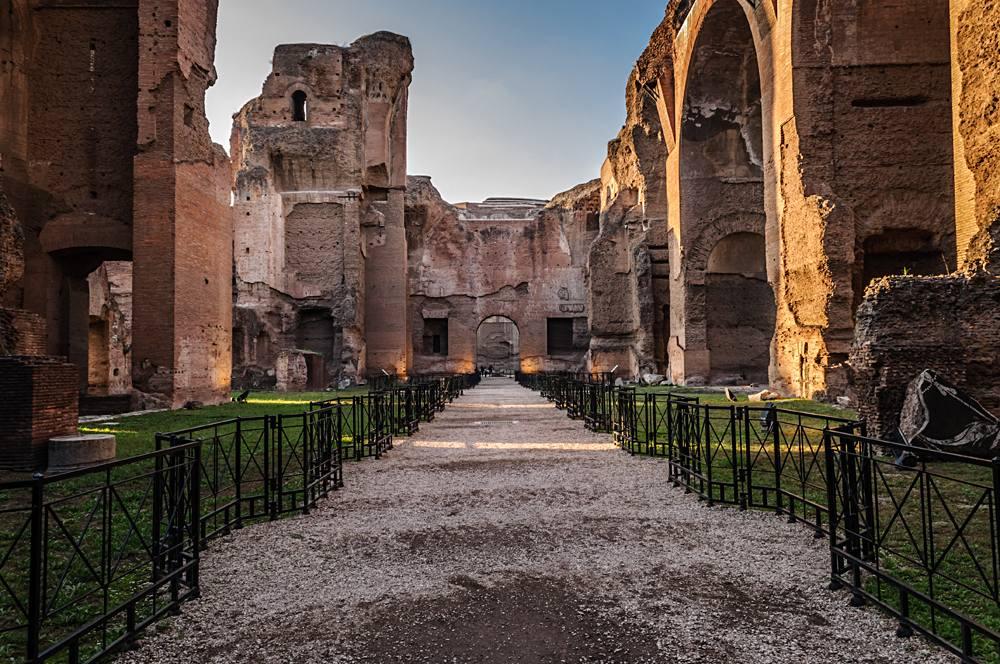 Baths of Caracalla, Rome, Italy