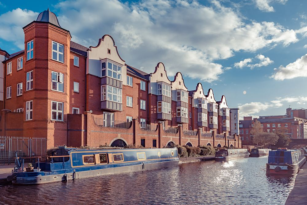Birmingham Canals, Birmingham, England, UK (United Kingdom)