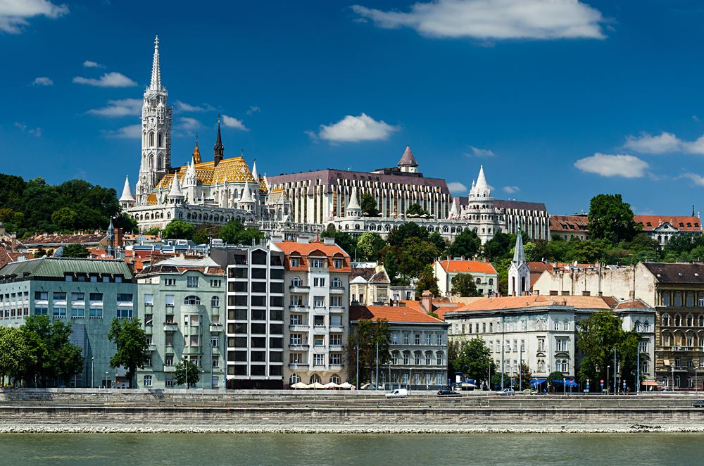 Buda Castle District, Budapest, Hungary