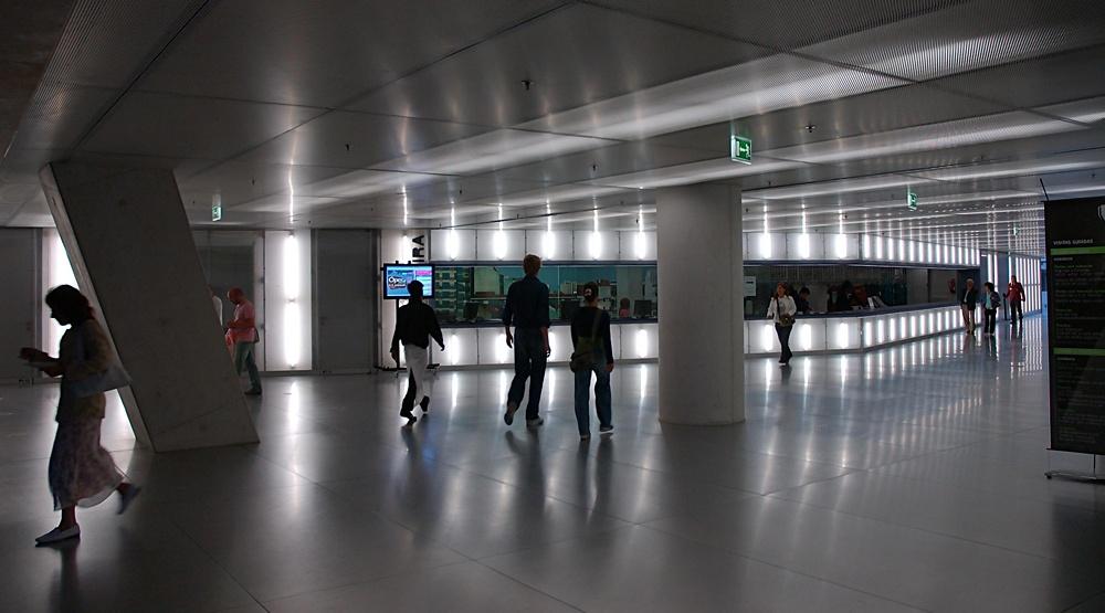 Casa da Musica lobby in Porto, Portugal