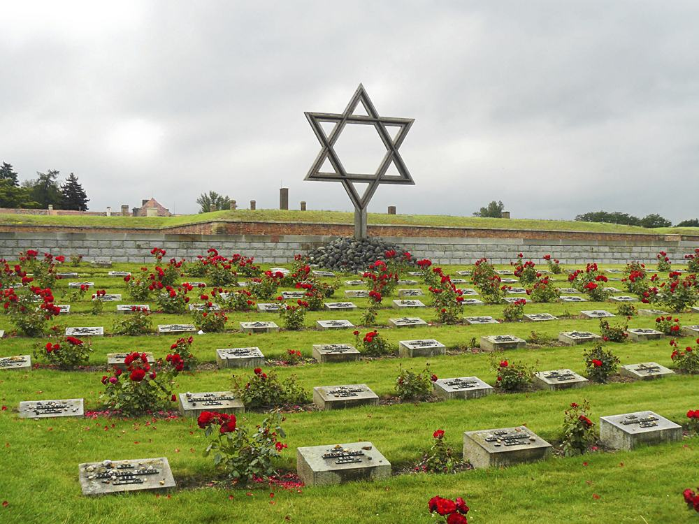 Cemetery in concentration camp in Terezin, Czech Republic