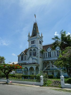 City Hall, Georgetown, Guyana